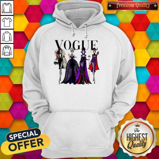 Vogue Disney Villains Evil Divas Paco Chicano Hoodie