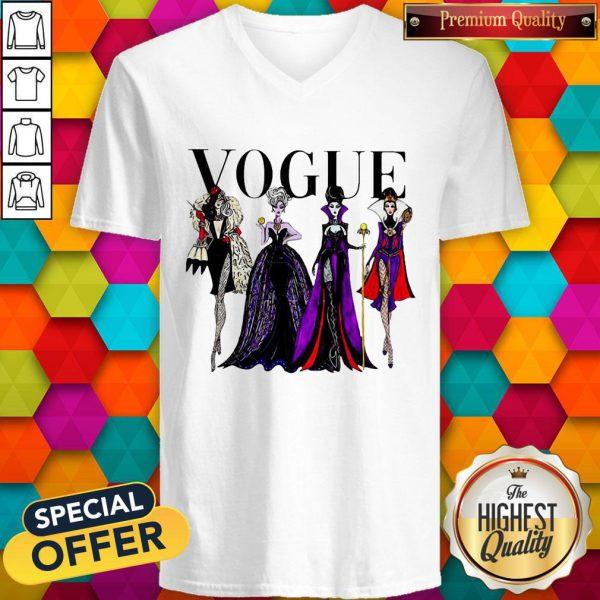 Vogue Disney Villains Evil Divas Paco Chicano V-neck