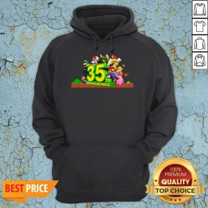 35th Anniversary Of Super Mario Bros Hoodie