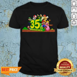 35th Anniversary Of Super Mario Bros Shirt