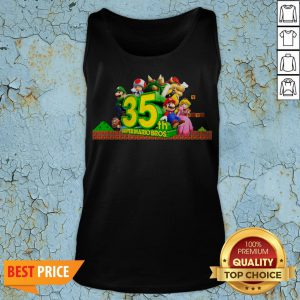 35th Anniversary Of Super Mario Bros Tank Top