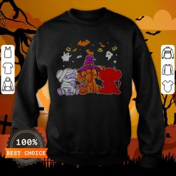 Awesome Elephant Ghost Halloween Sweatshirt