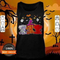 Awesome Elephant Ghost Halloween Tank Top