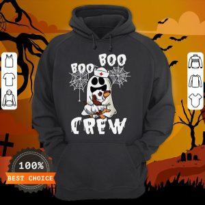 Boo Boo Ghost Hug Dachshund Crew Halloween Hoodie