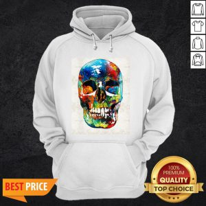 Colorful Skull Day Of The Dead Dia De Muertos Hoodie