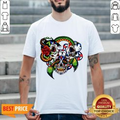 Cracked Candy Skulls Day Of The Dead T-Shirt