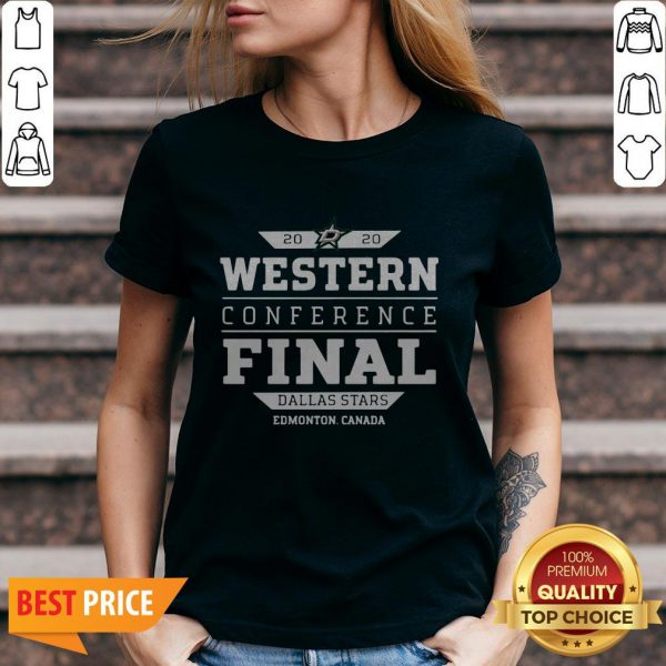 Dallas Stars 2020 Western Conference Final V-neck