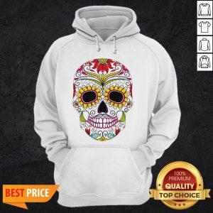 Day Of The Dead - Dia De Los Muertos Sugar Skull Hoodie