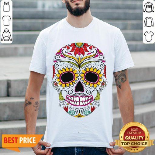 Day Of The Dead - Dia De Los Muertos Sugar Skull Shirt