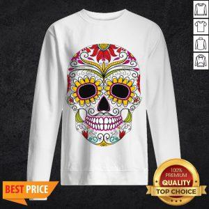 Day Of The Dead - Dia De Los Muertos Sugar Skull Sweatshirt