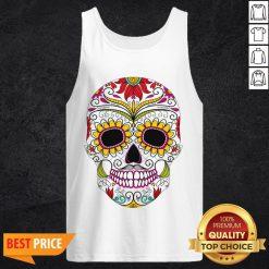 Day Of The Dead - Dia De Los Muertos Sugar Skull Tank Top
