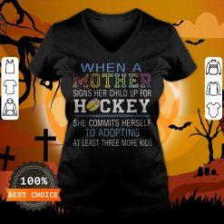 Duck Witch Honkus Ponkus Halloween V-neck