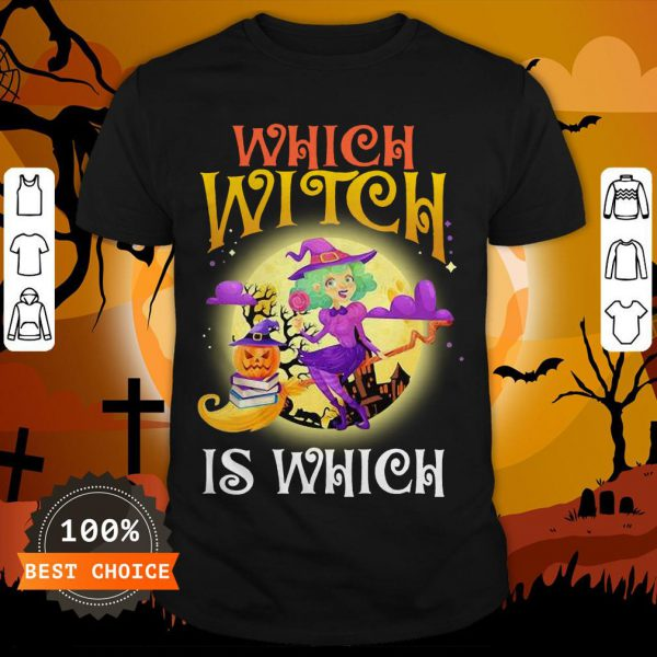 English Teacher Which Witch Is Which Halloween Shirt