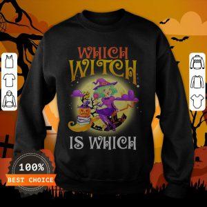 English Teacher Which Witch Is Which Halloween Sweatshirt