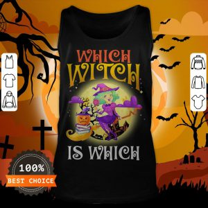 English Teacher Which Witch Is Which Halloween Tank Top