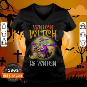 English Teacher Which Witch Is Which Halloween V-neck