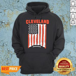 Funny Cleveland Football Flag 2020 Hoodie