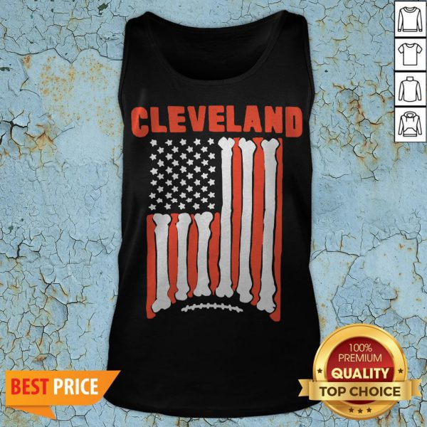 Funny Cleveland Football Flag 2020 Tank Top