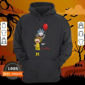 Funny It And Morty Hoodie