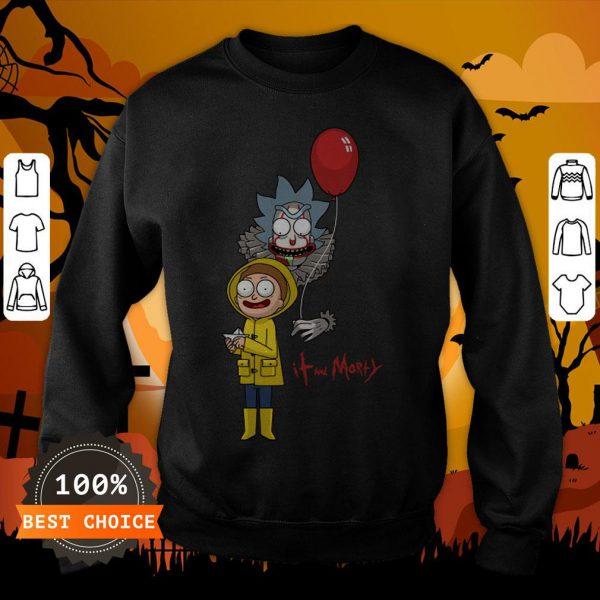 Funny It And Morty SweatshirtFunny It And Morty Sweatshirt