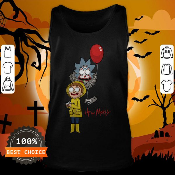 Funny It And Morty Tank Top