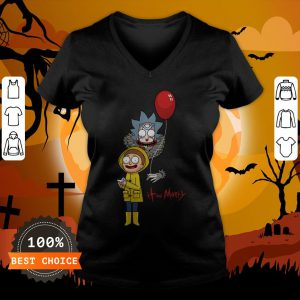 Funny It And Morty V-neck
