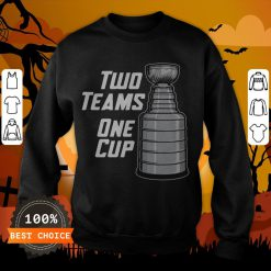 Funny Two Teams One Cup T-Sweatshirt
