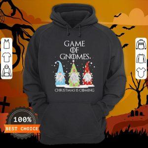 Game Of Gnomes Christmas Is Coming Three Gnomes Xmas Hoodie