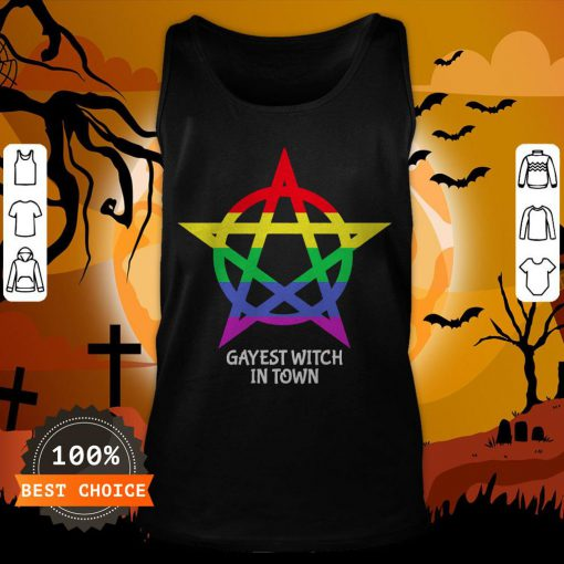Gayest Witch In Town Tank Top