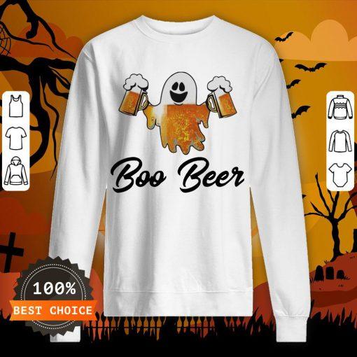 Ghost Boo Bees Halloween Sweatshirt