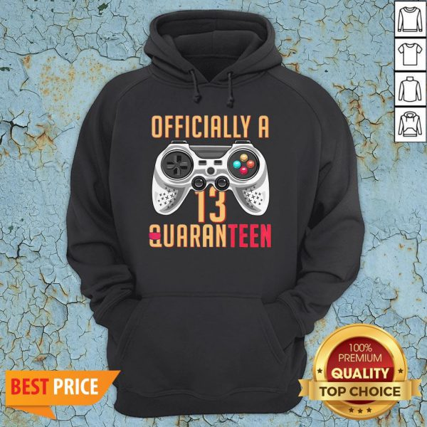 Graphic Officially A Quaranteen 13 Years Old Hoodie