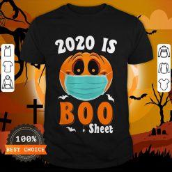 Halloween 2020 Boo Sheet Pumpkin Mask Shirt