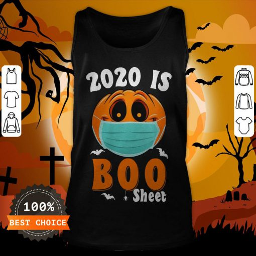Halloween 2020 Boo Sheet Pumpkin Mask Tank TopHalloween 2020 Boo Sheet Pumpkin Mask Tank Top