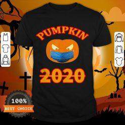 Halloween 2020 Pumpkin Wearing Mask T-Shirt