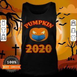 Halloween 2020 Pumpkin Wearing Mask T-Tank Top