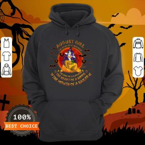 Halloween August Girl The Soul Of Mermaid The Fire Of A Lioness Hoodie