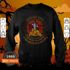 Halloween August Girl The Soul Of Mermaid The Fire Of A Lioness Sweatshirt