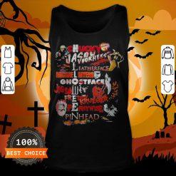 Halloween Chucky Jason Voorhees Leatherface Michael Myers Ghostface Jigsaw Freddy Krueger Pennywise Pinhead Tank Top
