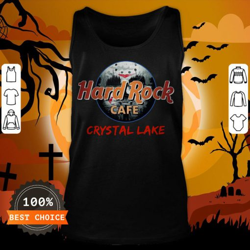 Halloween Hard Rock Cafe Crystal Lake Tank Top
