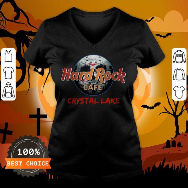 Halloween Hard Rock Cafe Crystal Lake V-neck