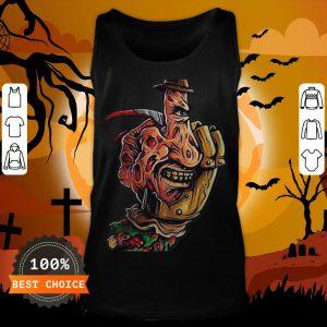 Halloween Jeanne Loves Horror On Freddy Krueger 2 Tank Top