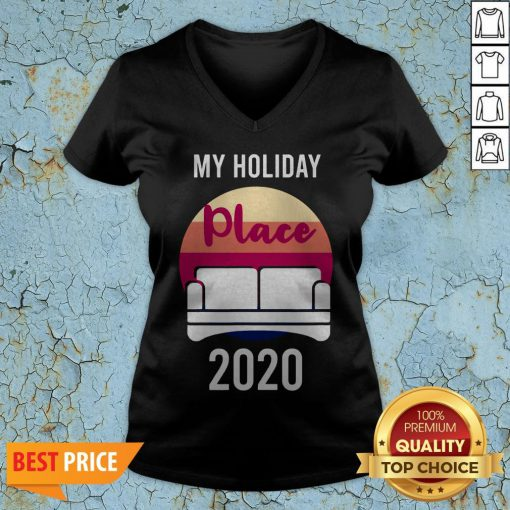Home As Holiday Place In 2020 T-V-neck