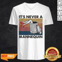 It's Never A Mannequin Vintage V-neck