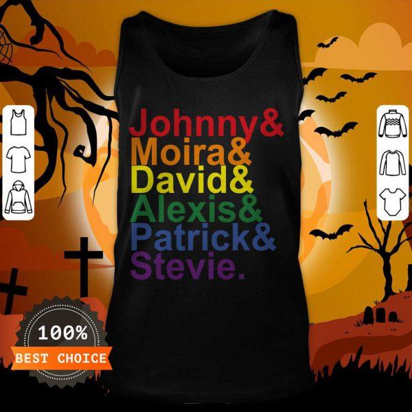 Johnny Moira David Alexis Patrick Stevie Pride Schitts Creek Classic T-Tank Top