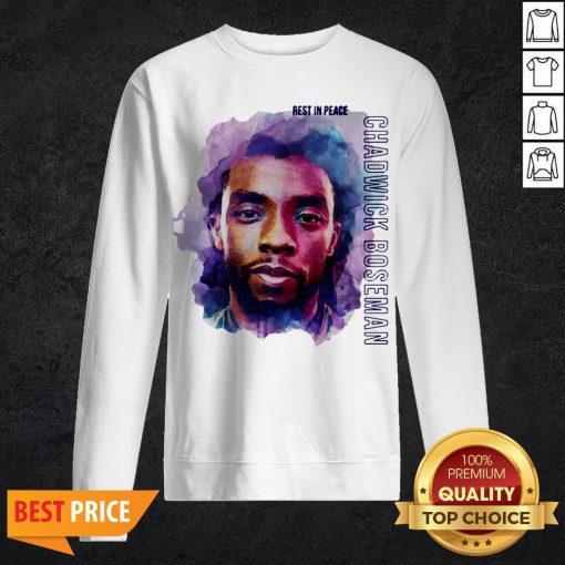 King T'Challa To Life In Black Panther Chadwick Boseman Wakanda Forever Sweatshirt