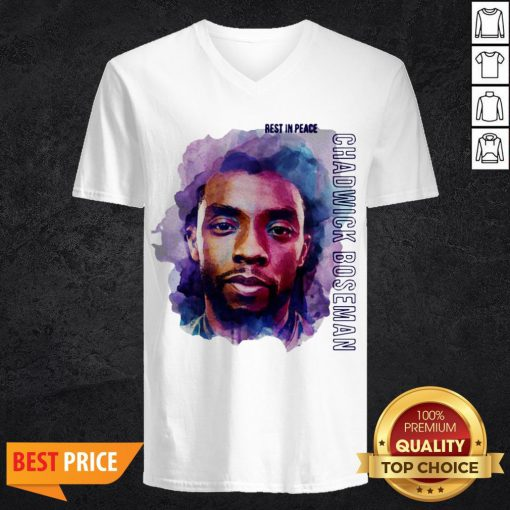 King T'Challa To Life In Black Panther Chadwick Boseman Wakanda Forever V-neck