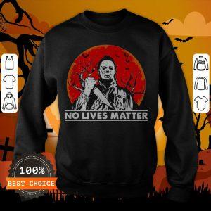 Michael Myers No Lives Matter Halloween Sweatshirt