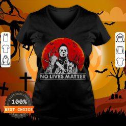 Michael Myers No Lives Matter Halloween V-neck