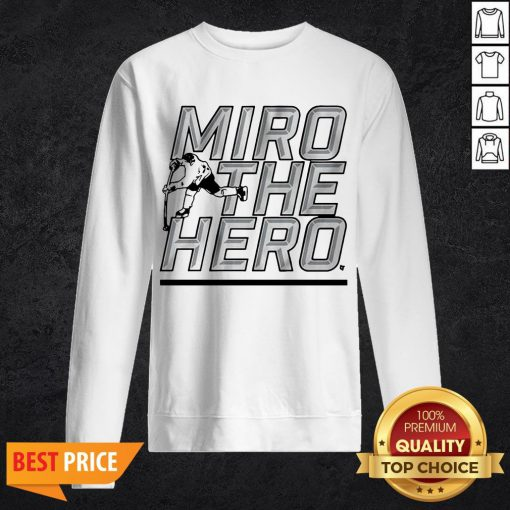Miro The Hero Dallas Hockey Sweatshirt