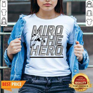 Miro The Hero Dallas Hockey V-neck